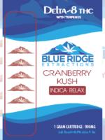 Cranberry kush Delta-8 THC 1 Gram Cartridge - 900 MG