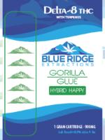 gorilla glue hybrid happy Uplift Delta-8 THC 1 Gram Cartridge - 900 MG
