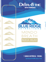 delta 8 THC vape cartridge mendo breath