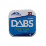 delta 8 thc dabs 1 gram green crack sativa uplift