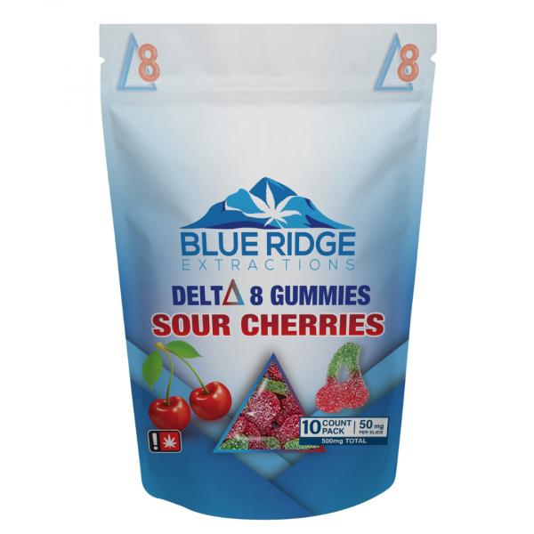 delta 8 d8 sour cherry gummies cherries gummies 50mg 500mg potent